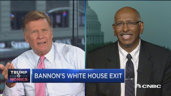 Now that Bannon's out, it's not going to be 'pretty' for GOP this fall: Fmr. RNC's Michael Steele