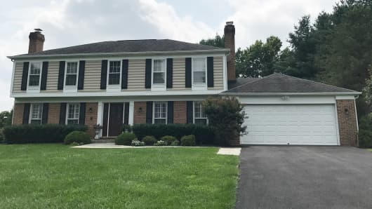 Laraine Camera Goldberg lives alone in this five-bedroom home in North Potomac, Maryland and wants to sell it, but can't find a feasible next option because of cost.