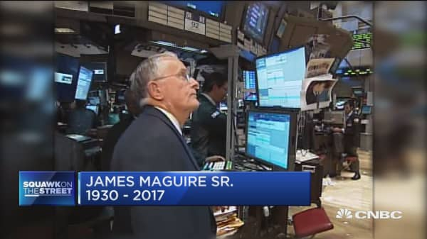 Wall Street titan James MacGuire, Sr. dies at age 86