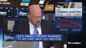 Cramer: I don't get GE's Jeff Immelt possible move to Uber