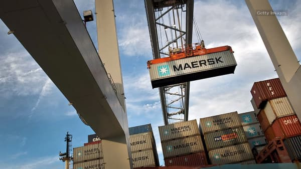 Maersk agrees to sell oil unit to Total in $7.45 bln deal