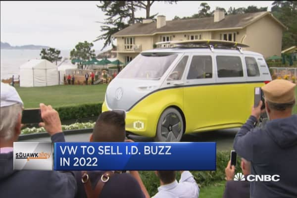 VW re-imagines the '60s Microbus with this new, all ...