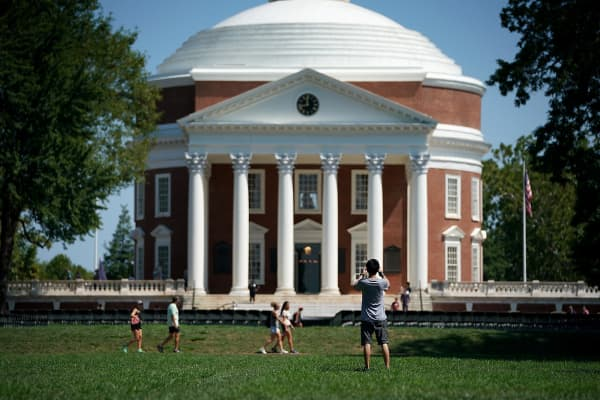University of Virginia in Charlottesville, Virginia