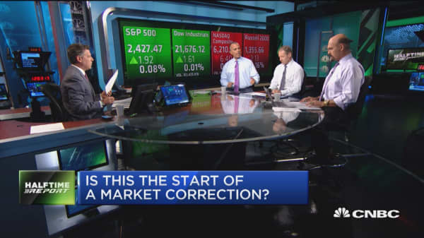 Is this the start of a market correction?
