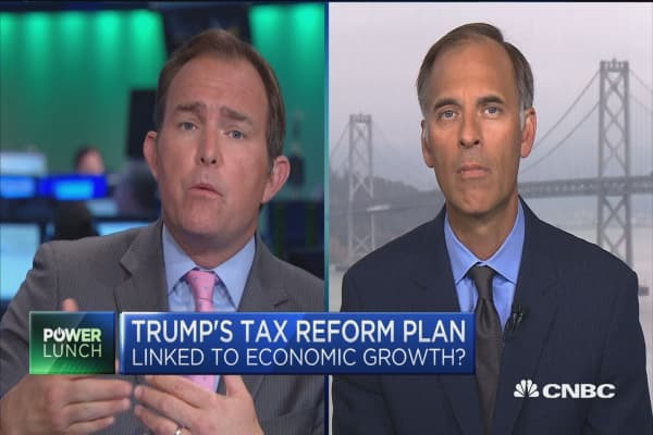 Tax reform a big deal for economy 10 years from now, not short-term: Moody's Mark Zandi