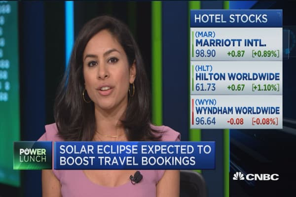 Travel companies cash in on the solar eclipse