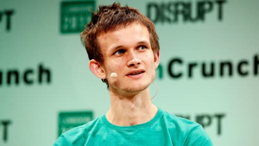 Founder of Ethereum Vitalik Buterin