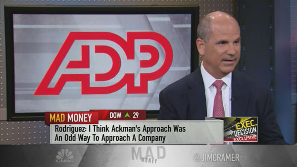 ADP CEO: Ackman needed 'leverage' over board