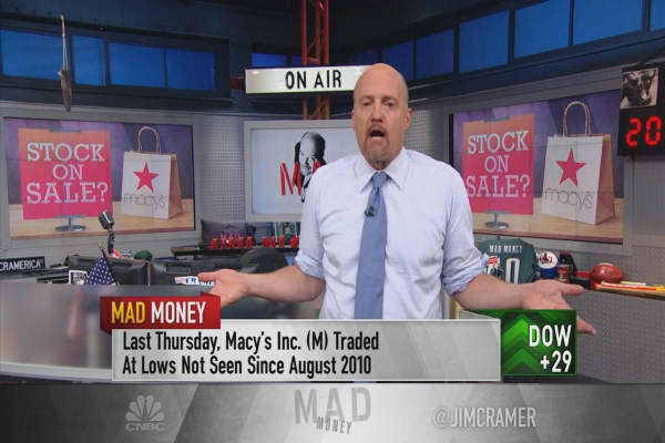 Cramer's estimates reveal Macy's stock could be worth more than you think