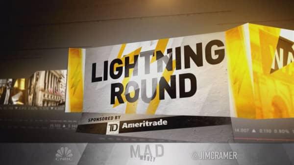 Cramer's lightning round: The weather didn't go Chesapeake's way this year