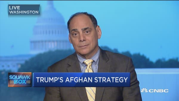 Trump's Afghan war plan presents two-fold strategy: Heritage Foundation's James Carafano