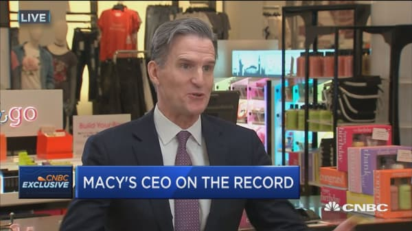 Hal Lawton brings retail and technology experience: Macy's CEO