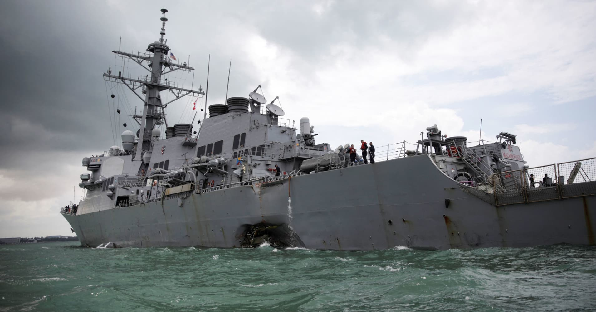 Commander of US Pacific Fleet says remains of some missing ...
