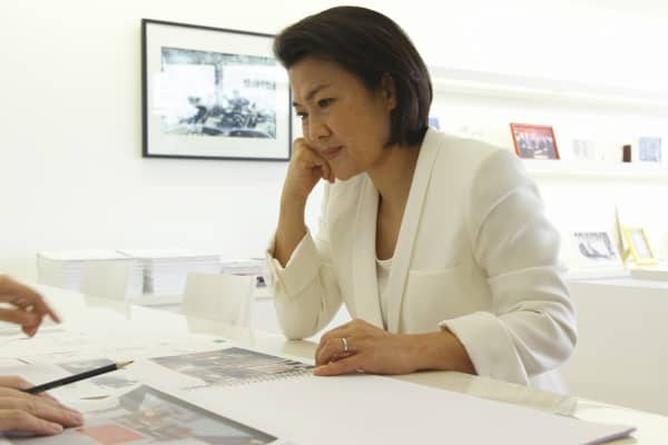 Zhang Xin, chief executive of SOHO China