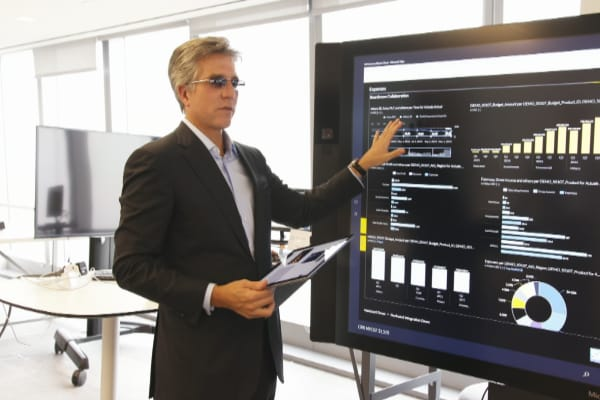 Bill McDermott, chief executive of SAP