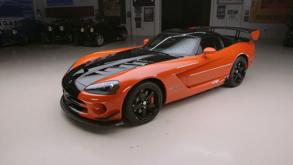 Jeff Dunham learns the true value of his 2008 Dodge Viper ACR