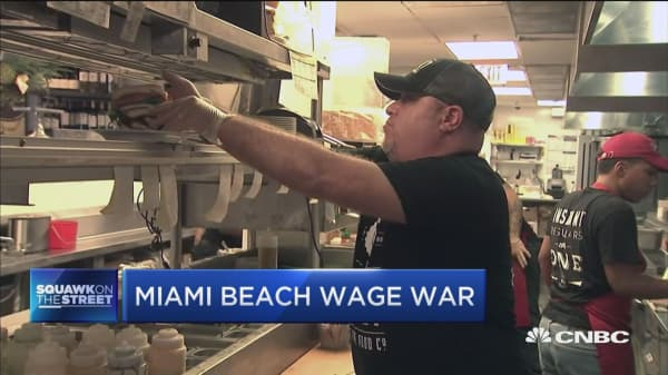 Small Business Cities: debate over the minimum wage