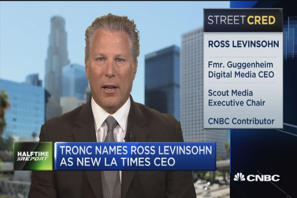 New LA Times CEO Ross Levinsohn: Never seen a more important time for journalism