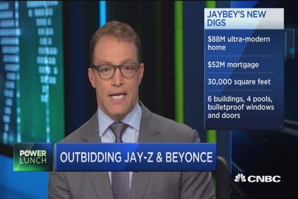 Beyonce & Jay Z's new crib