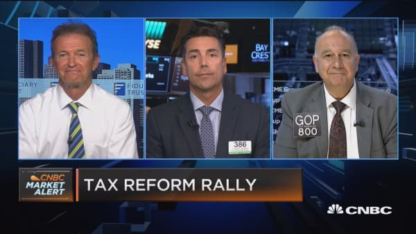 Closing Bell Exchange: Tax reform rally