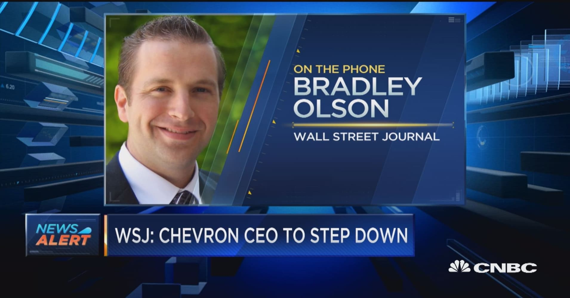 WSJ: Chevron CEO to step down