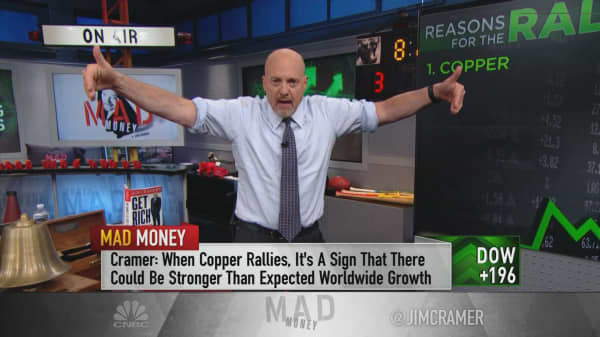 Cramer names the 12 factors driving the market-wide rally