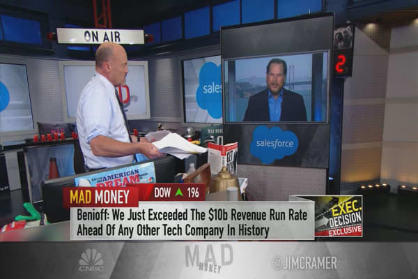 Salesforce's Marc Benioff details cloud giant's push into AI, dishes on secret client