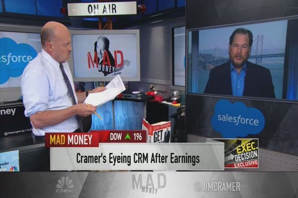 CRM's Benioff on push into AI