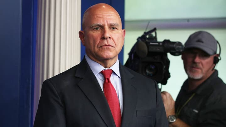 Nationwide Security Adviser H.R. McMaster