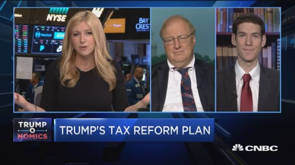 Greenberg: Investors should continue to be cautious about tax reform