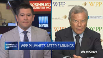 There is a disconnect between the top line growth and the valuations: WPP CEO