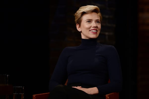Scarlett Johansson appears on Inside the Actors Studio
