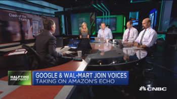 Google and Wal-Mart team up to take on Amazon