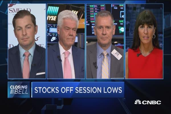 Closing Bell Exchange: Shutdown talks shakes stocks