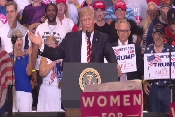 Trump: We'll 'probably' end up terminating NAFTA