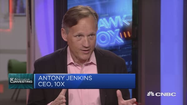 Antony Jenkins vid 1