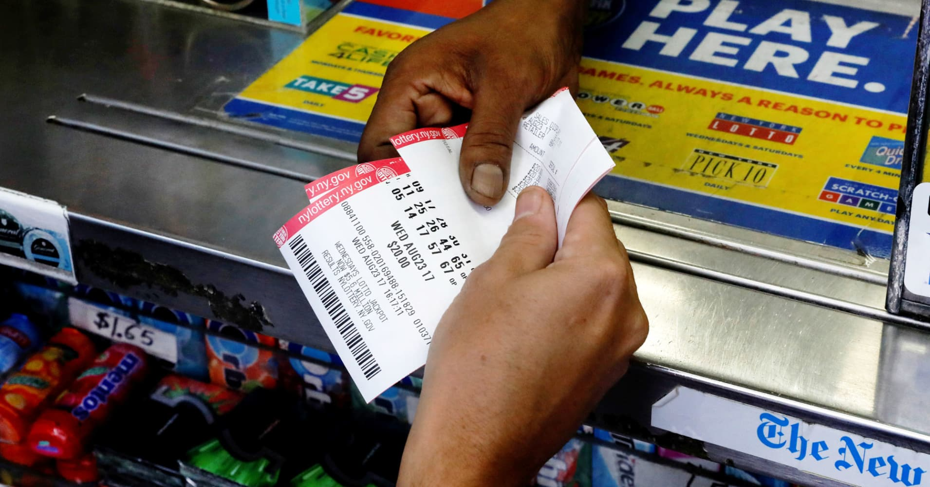 Your step-by-step guide to winning the lottery: Would you