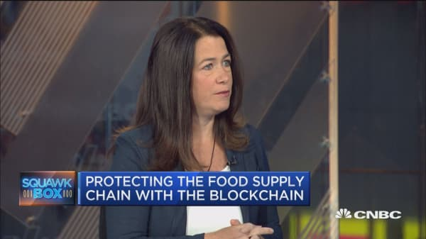 IBM deploys blockchain technology to provide enterprise solutions to food safety: IBM's Brigid McDermott