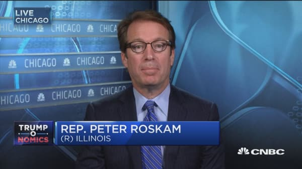 Let's go for it! GOP should grab 'transformational' moment to change tax laws: Rep. Roskam