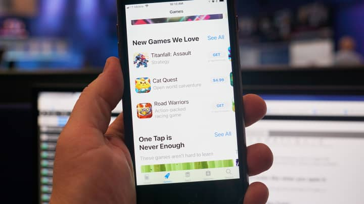 CNBC Tech: iOS 11 App Store 4