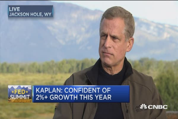 Dallas Fed President Robert Kaplan: We will monitor government shutdown very closely