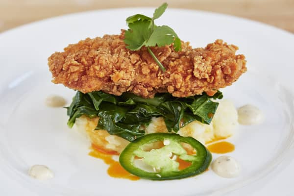 Southern fried chicken made by Memphis Meats