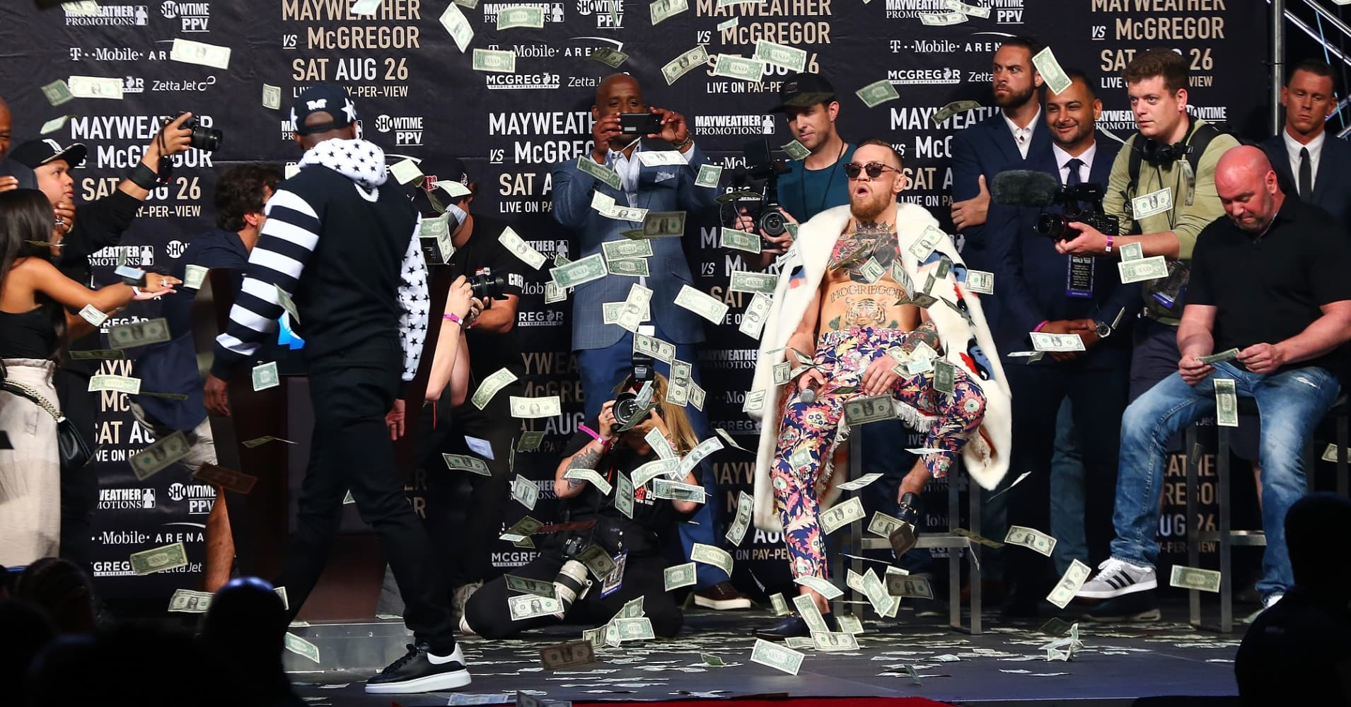 Mayweather Could Make Millions More Than Mcgregor On Saturday