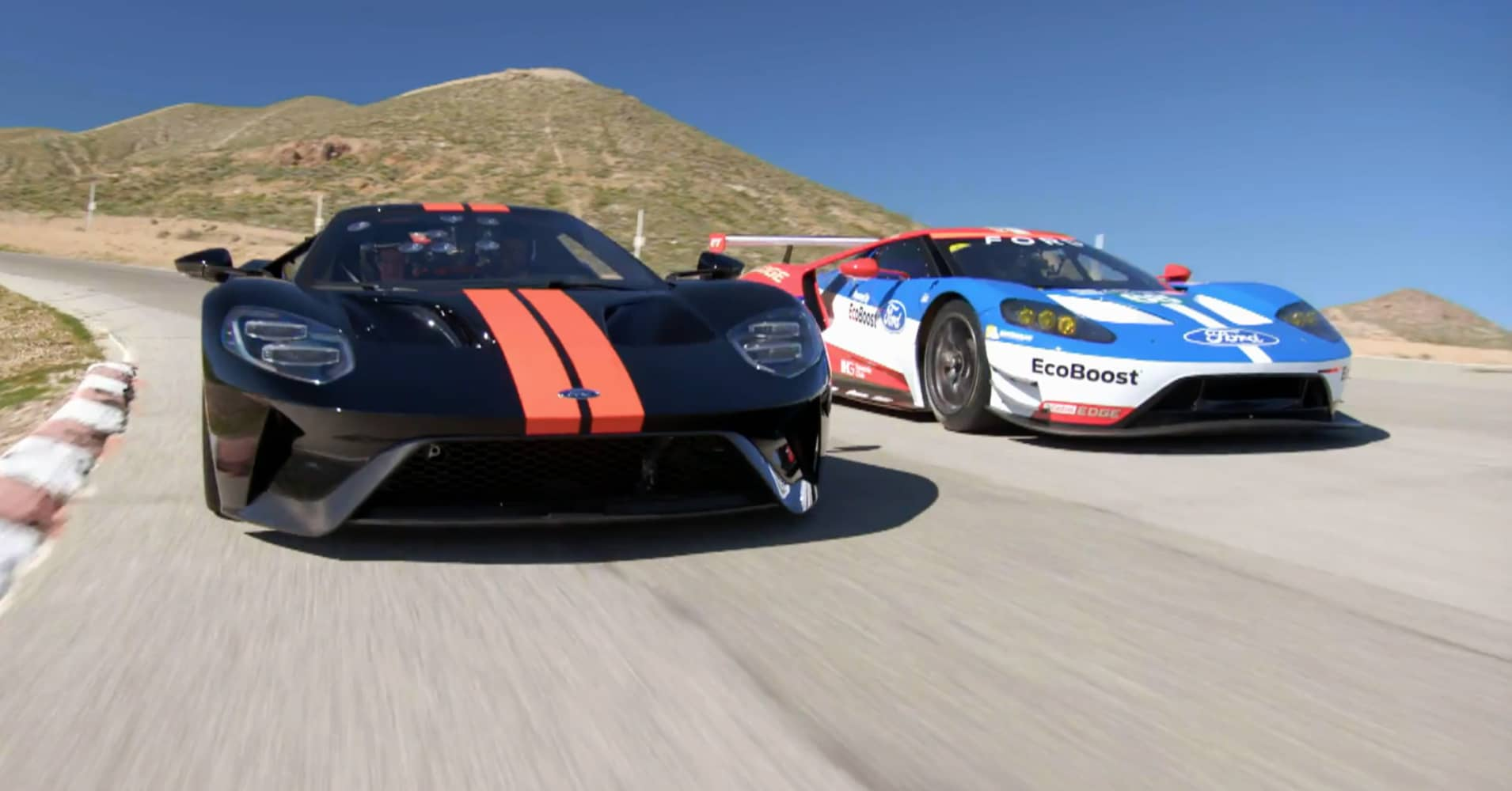 Ford ford gt images : CNBC Jay Leno's Garage 2017 Ford GT test drive