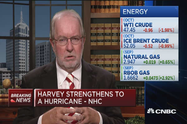 Hurricane put downward pressure on crude oil: Gartman Letter editor