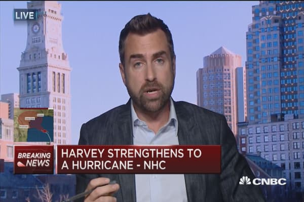 There's a lot of room for Harvey to strengthen: WSI's Dan Leonard