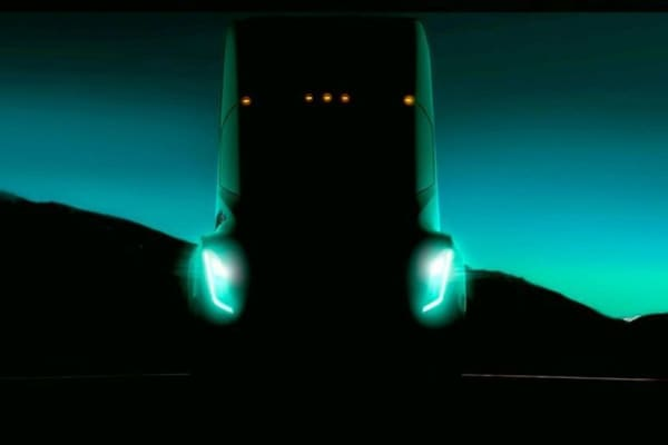 Tesla Semi to be unveiled next month.
