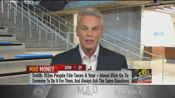TurboTax parent's CEO: In the absence of tax reform, 'we'll do the job for Congress'