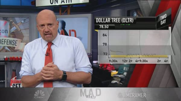 Cramer explains the 3 ways retailers defended themselves against Amazon this quarter