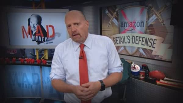 Cramer Remix: Believe it or not—not all of retail is falling victim to Amazon